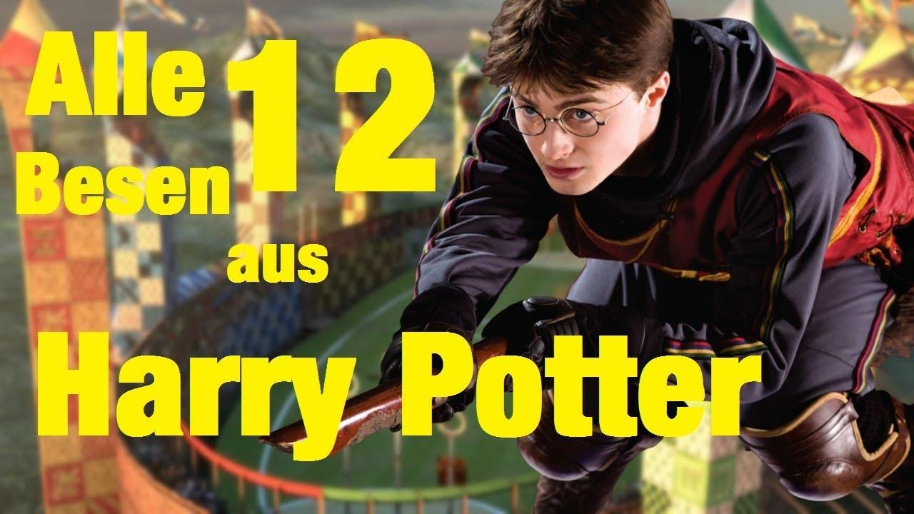 Die 12 Flugbesen Marken Aus Harry Potter Youtube