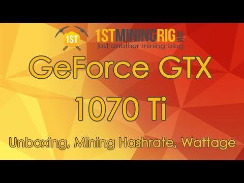 gtx 1070 bitcoin kasybos hashate