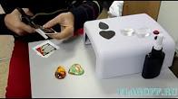 Заготовка акрилового магнита в Туле. - YouTube