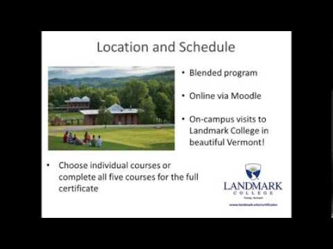 Landmark Professional Certificate Program Open House
