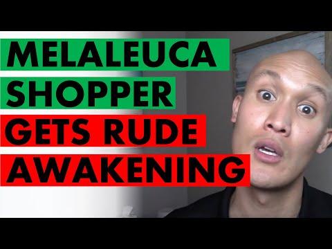 Avid Shopper Of Melaleuca Products Gets Rude Awakening