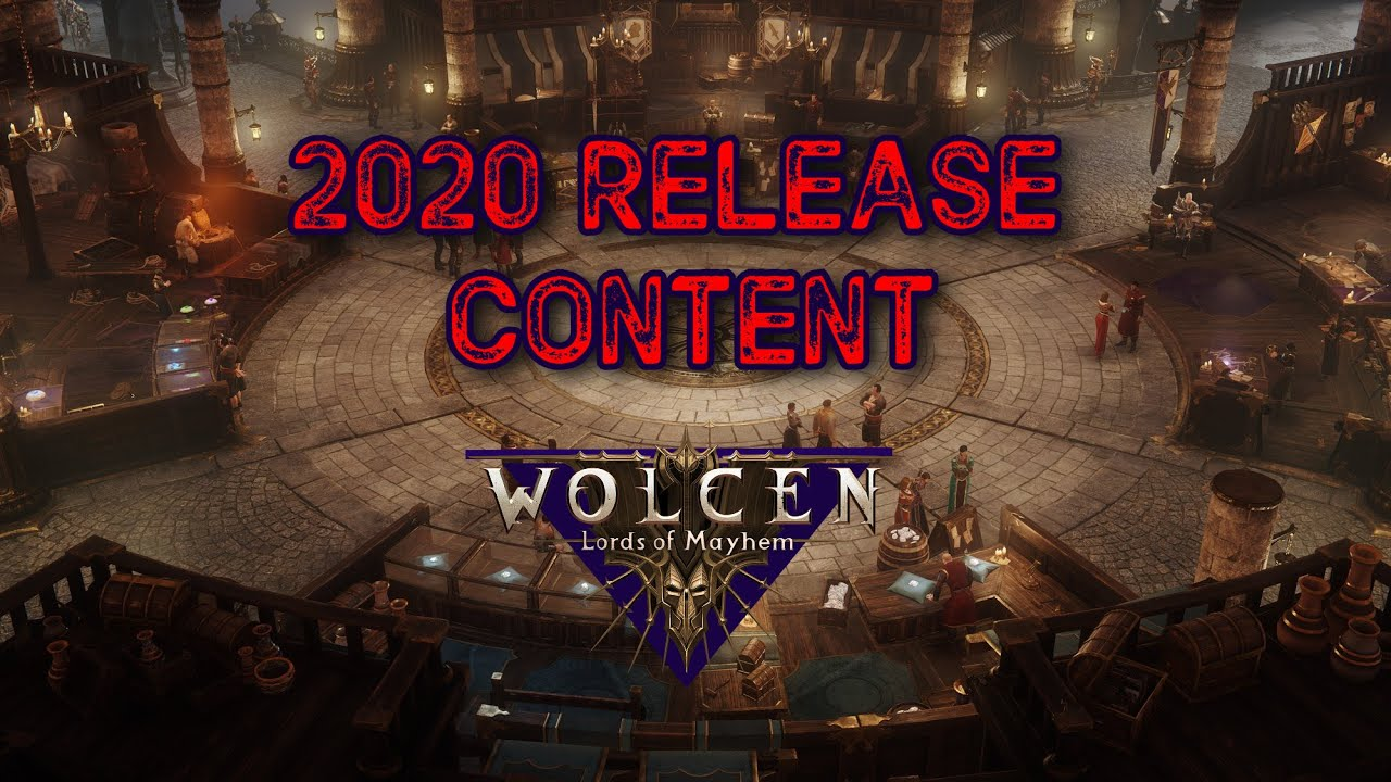 Wolcen 2020 Release Content