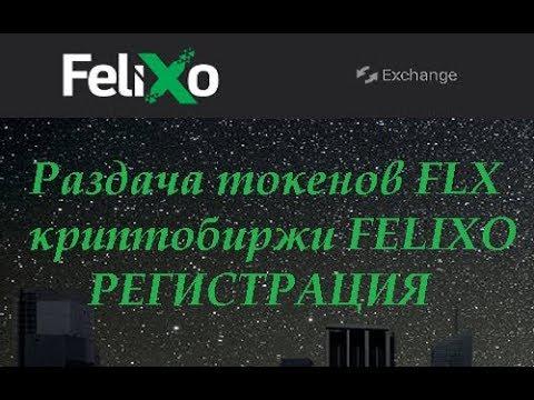Felixo Раздача токенов FLX турецкой биржи Обзор аирдропа  FELIXO
