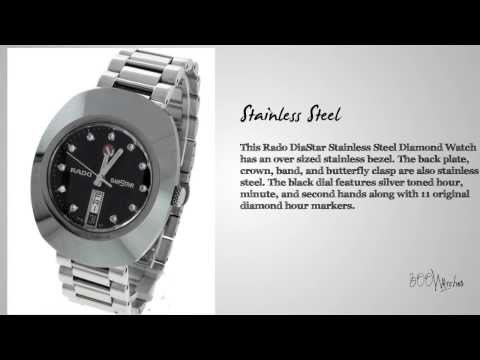 Rado DiaStar Stainless Steel Diamond Watch
