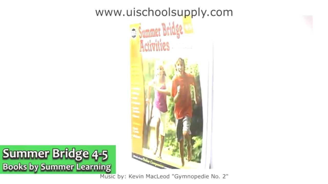 Summer Bridge Activities 4-5 RB904160 - YouTube