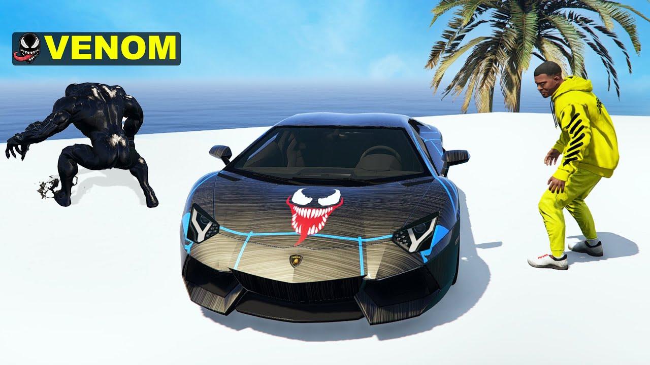 I Stole VENOM'S SUPER CAR From VENOM in GTA 5 || VENOM GTA 5