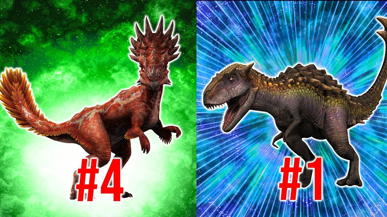 RANKING ALL THE MOST POWERFUL UNIQUE HYBRIDS IN 1 5! | Jurassic World Alive