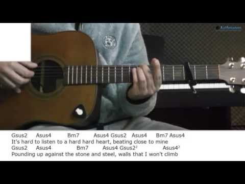 How to play Rain with Patty Griffin (Guitar lesson)