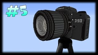 Гигантский Работающий Фотоаппарат В Майнкрафт! (Обзор Карты 5)