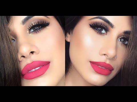 GRWM! Festive look | Using NEW Drugstore Makeup Products | Malvika Sitlani