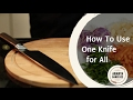 How to Use One Knife for All -  Ananya's Kitchen Tricks