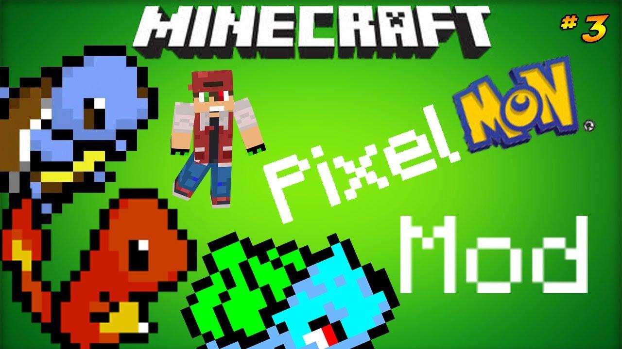Minecraft pixelmon pokemon mod charmander evolution - Pixelmon ep 1 charmander ...