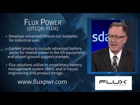 Flux Power (OTCQB: FLUX) - Advanced Lithium-ion Batteries for Industrial Uses