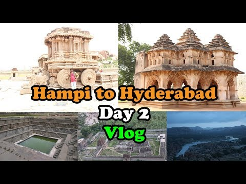 Bike Ride Hyderabad Day 2 Hampi India Vijay