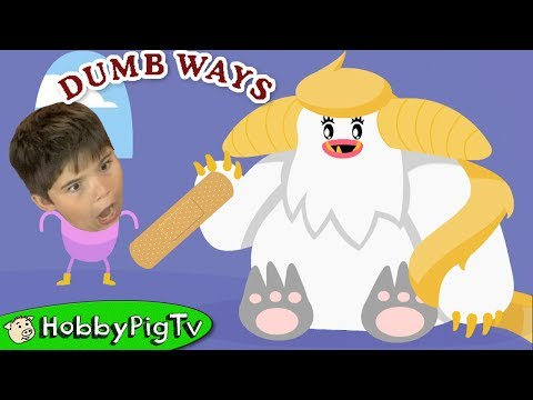Dumb Ways! Game Phone App + NEW MAP with HobbyFrog on HobbyPigTV