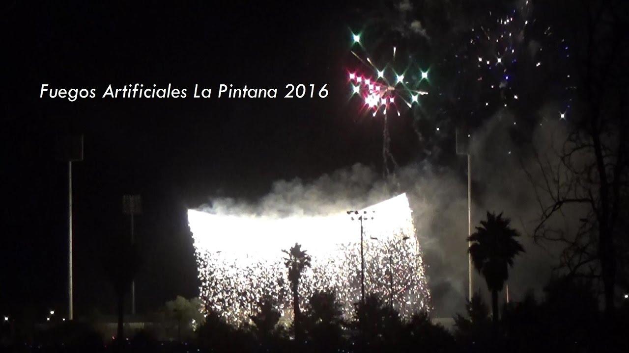 Fuegos Artificiales La Pintana 2016 Youtube