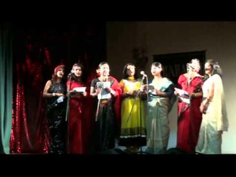 Group Song @ Prabashi Saraswati Puja 2014