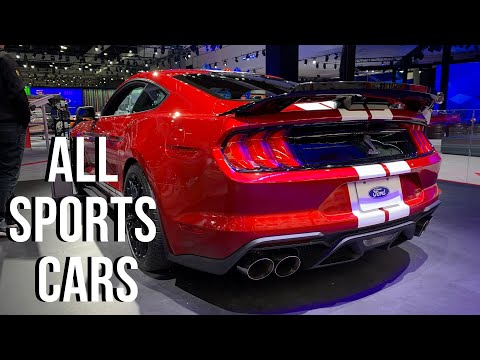LA Auto Show 2019 HIGHLIGHTS - Sports Cars ONLY