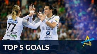 Top 5 goals | Round 5 | Women's EHF Champions League 2018/19