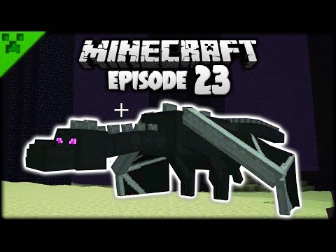 Battling The Minecraft Ender Dragon! | Python's World (Minecraft Survival Let's Play) | Episode 23