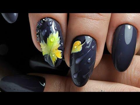 Осенний дизайн ногтей новинки фото
