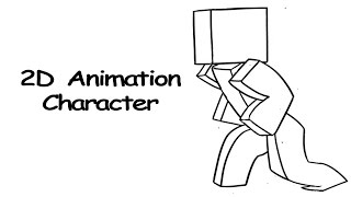 Animating Minecraft Character using pencil program part.1