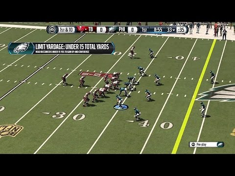 Madden NFL 16 Gameplay - Tampa Bay Buccaneers vs Philadelphia Eagles