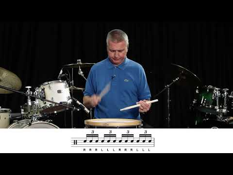 Rudiment no 5 the triple stroke roll .