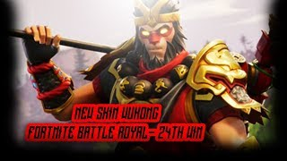 NEW SKIN!! WUKONG - 24th Squad Win! - Fortnite Battle Royal - Asurahh
