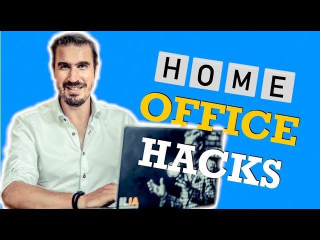 5 Home Office Tipps für produktiveres Arbeiten Zuhause (Stressfrei)