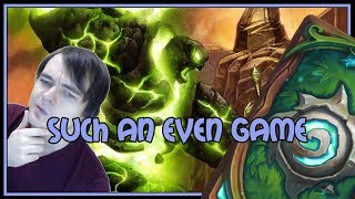 Such an EVEN game | Evenlock | The Witchwood | Hearthstone