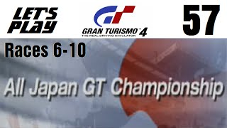 Let's Play Gran Turismo 4 - Part 57 - Japanese Events - All Japan GT Championship - Races 6-10