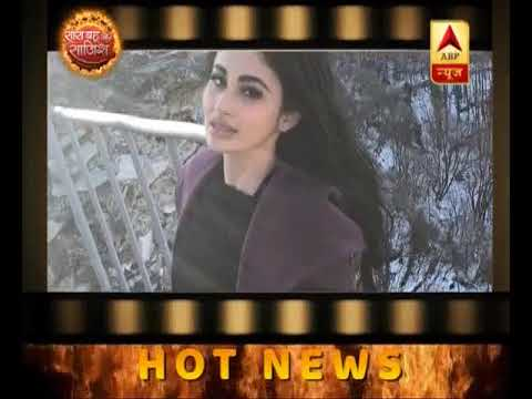 Mouni Roy shooting for her film in Bulgaria
