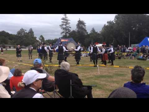 City of wellington Pipeband - medley