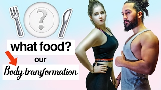 WHAT DIET, FOOD On body TRANSFORMATION ? (Freeletics, BBG to Gym MUSCULATION !)