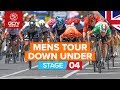 Santos Tour Down Under 2020 Stage 4 HIGHLIGHTS | Norwood - Murray Bridge