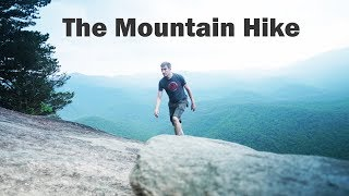 The Mountain Hike - Droning Around Cliffs, Waterfalls, and Lakes