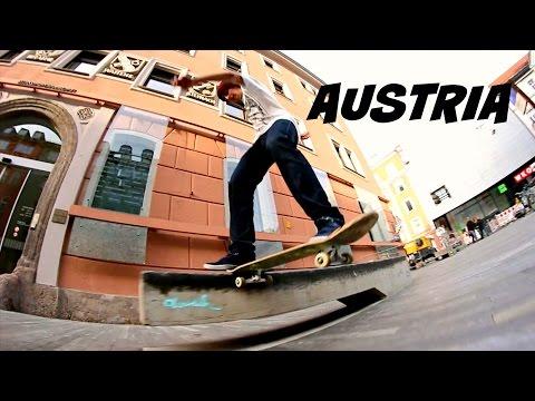 AUSTRIA Skateboarding - weekend getaway clip