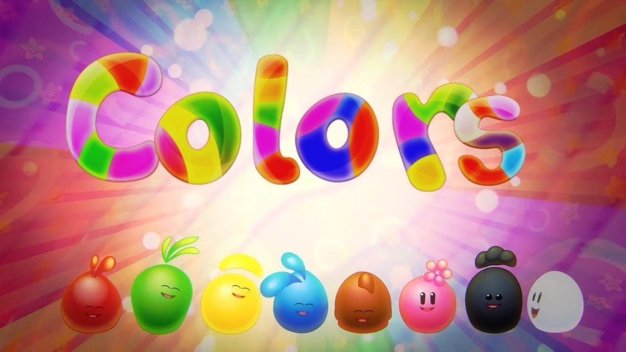 أغنية الألوان تعليمية رائعة Learning The Colours Youtube