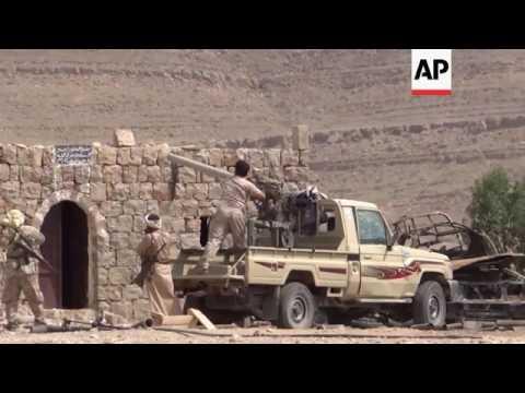 Fighting between govt forces and rebels in Yemen
