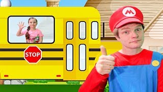 Wheels on the Bus kids songs by KybiBybi Colors
