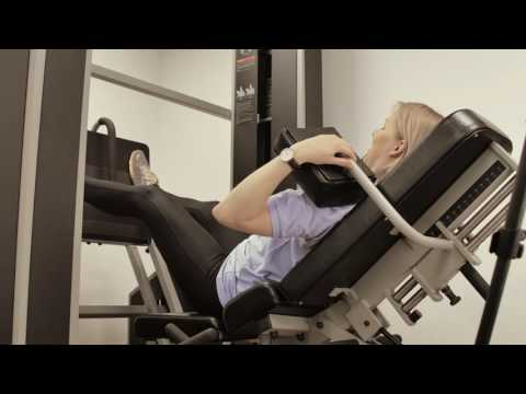 LPAW Clinic - Medx reclined leg press physiotherapy in London and Essex