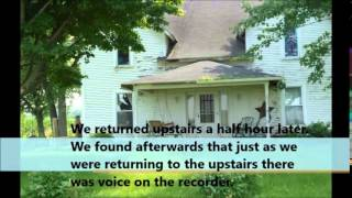 Middletown Indiana Haunted Farmhouse