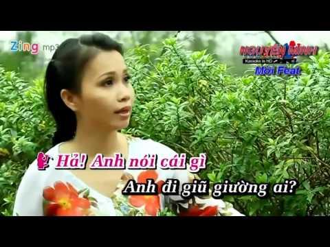 karaoke Anh Đi Giữ Vườn song ca vơi nguyễn minh