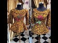 Ankara Fashion Styles Collection: Tops, Skirt and Blouse Ankara, (2018)