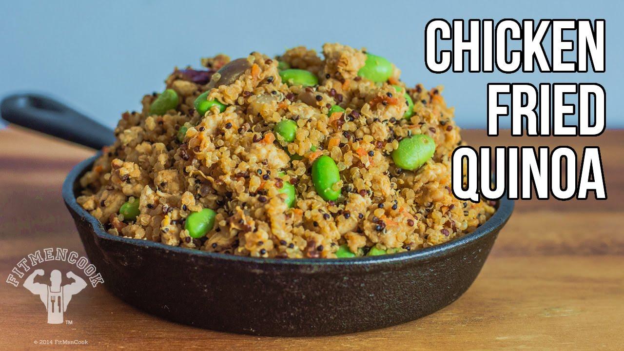 Quinoa Frito Con Pollo