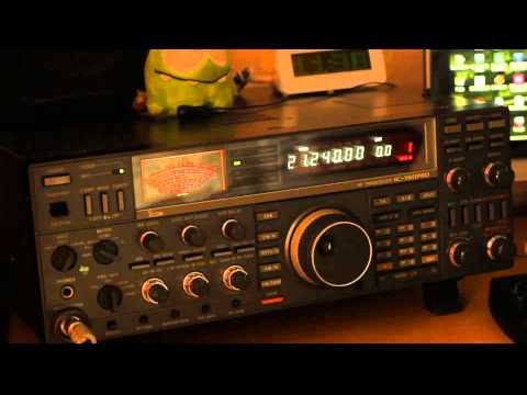 Listening QSO LB3AG with ZL1ACE (Icom 760Pro)