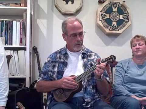 Dallas Ukulele Headquarters...Tom Steele performs I Could Be Good For You...