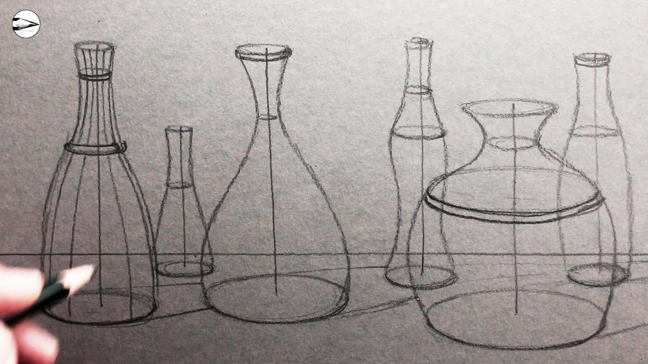 Draw a Still Life: From Line Drawing to Shading