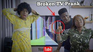 Download Mc Shem Comedian - Broken TV Prank   Mc Shem Comedian